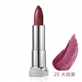 image of MAYBELLINE 媚比琳 極綻色金屬霧光唇膏25火焰紫 3.9g  MAYBELLINE New York Color Sensational Matte Metallic Lipstick 3.9g #25 Copper Rose