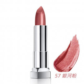 image of MAYBELLINE 媚比琳 極綻色金屬霧光唇膏57銀河粉 3.9g  MAYBELLINE New York Color Sensational Matte Metallic Lipstick 3.9g #57 Spiral Galaxy