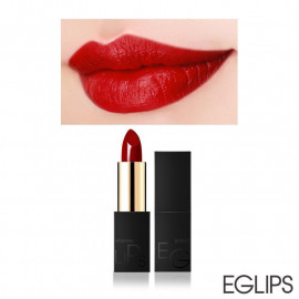 image of 韓國 Eglips 極致經典金屬光唇膏 3.5g 04緋紅歐若拉  Korea Eglips Golden Shimmer Lipstick 3.5g #04 Red Aura