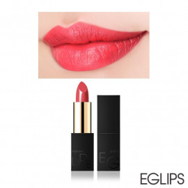 image of 韓國 Eglips 極致經典金屬光唇膏 3.5g 01戀愛信號  Korea Eglips Golden Shimmer Lipstick 3.5g #01 Heart Signal