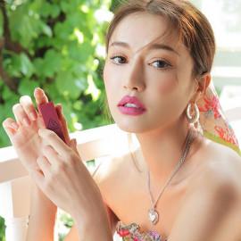 image of 韓國 3CE 春漾霧面絲絨唇膏 3.5g 224  Korea 3CE STYLENANDA Matte Lip Color Supreme Violet Matte Shades 3.5g #224