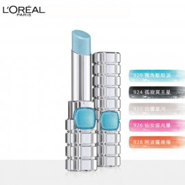 image of LOREAL 巴黎萊雅 絕對霓光獨角獸唇膏 928阿波羅暖陽3g   L'Oreal Paris Color Riche Shine Holographic Lipstick 3g #928 Papaya
