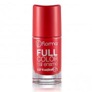 image of 法國 Flormar 玩色指甲油(沐浴巴黎系列) 8mL #.FC08 豔遇紅磨坊  France Flormar Full Color Nail Enamel 8mL #.FC08 Optimistic Red