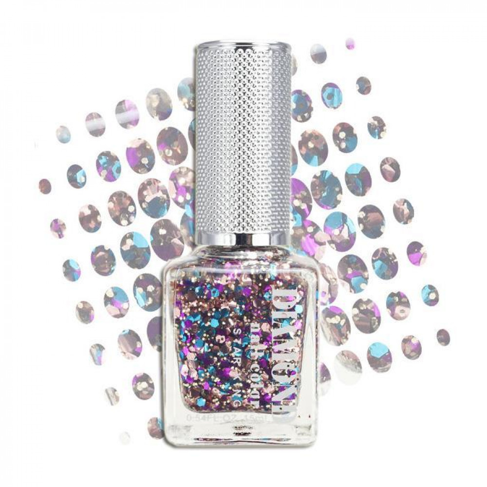 星之冠 水漾 晶鑽 指甲油 15mL #.008  STAR KING Diamond Nail Color 15mL #.008