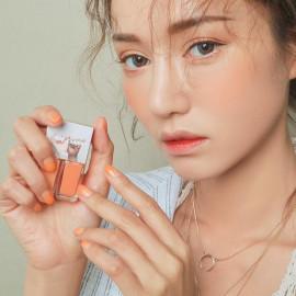 image of 韓國 3CE x Take A Layer 夏日果凍漸層指甲油 Soft Orange4ml*2  Korea 3CE x Take A Layer Layering Nail Lacquer #Soft Orange 4ml*2