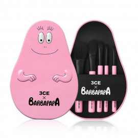 image of 【出清品】韓國 3CE(3CONCEPT EYES)╳BARBAPAPA 泡泡先生聯名多功能刷具組 乙組入  Korea 3CE(3CONCEPT EYES)╳BARBAPAPA Brush Kit (5PCS)