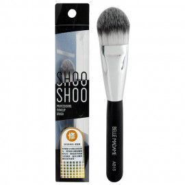 image of Belle Madame 貝麗瑪丹 SHOOSHOO修容兩用刷AB15 乙支入  Belle Madame SHOOSHOO Professional Makeup Brush #AB15 Foundation / Contour Brush