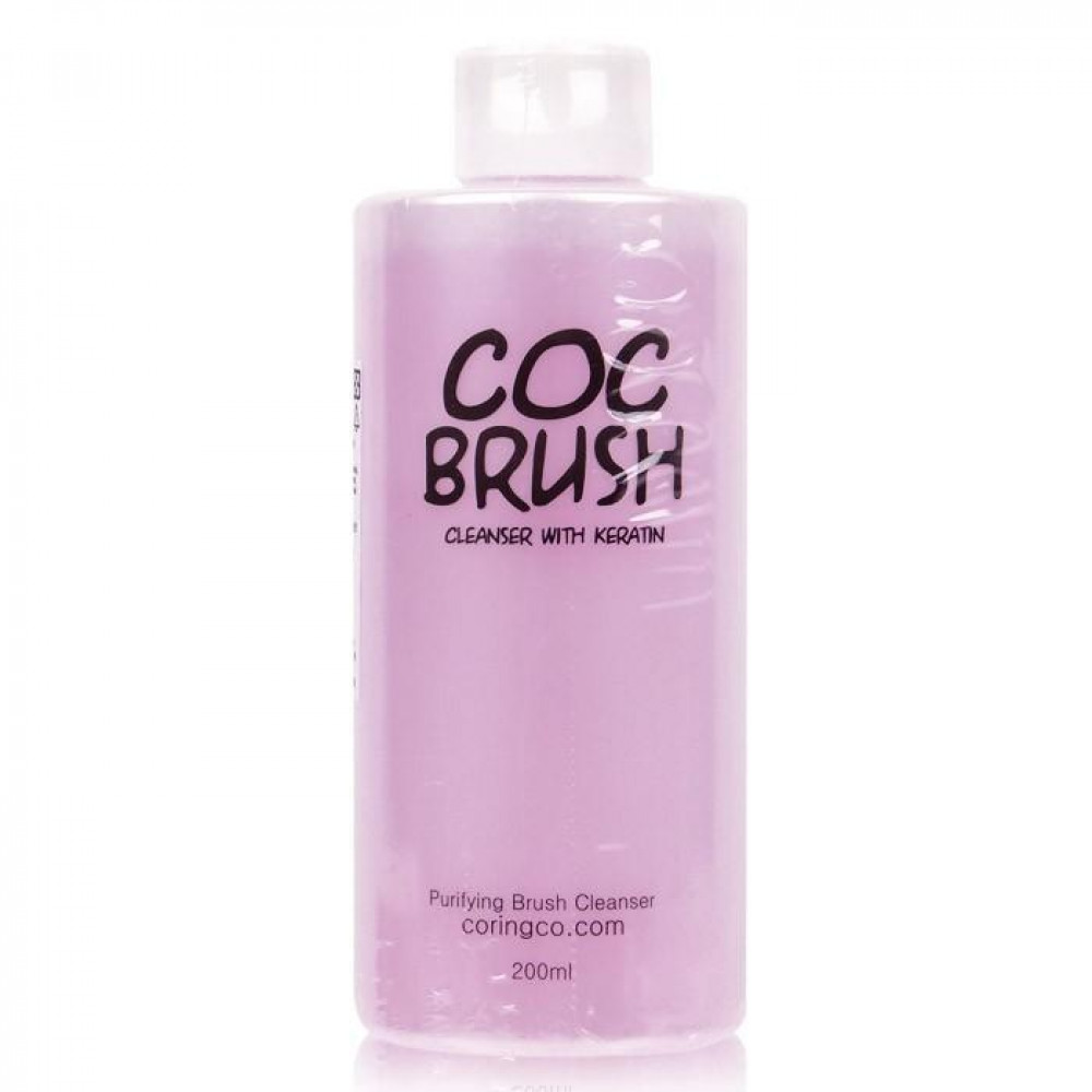韓國 Coringco 刷具清潔液 200mL   Korea  Coringco Purifying Brush Cleanser 200mL