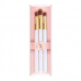image of Miss Hana 花娜小姐 蒲公英眼唇刷具組   Miss Hana  Dandelion Brush Set