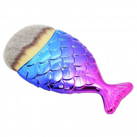 image of 美人魚化粧餘粉刷 漸層     Mermaid Makeup Foundation Brush #Gradient color
