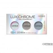 image of 德國 Catrice 魔幻稜光指甲亮粉   Germany Catrice Cosmetics 2 IN 1 Base & Top Coat Nail Powder Kit