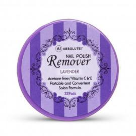 image of NICKA K 妮卡 卸甲棉片32片入 薰衣草香12ml  NICKA K New York Nail Polish Remover 32 Pcs 12ml #Lavender
