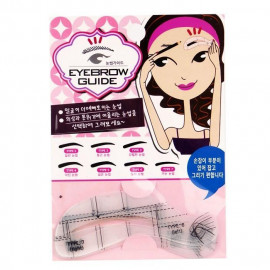 image of 【出清品】Eyebrow Guide 畫眉卡版(共7種眉型) 乙組入 新手必備/眉筆 新手及懶人必備神器    Eyebrow Guide & Eyebrow Pencil