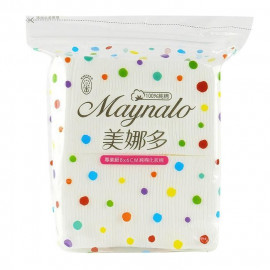 image of Maynalo 美娜多 專業級天然化妝棉 100枚入   Maynalo Makeup Facial Cotton Pads 100 sheets