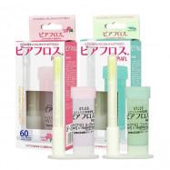 image of 日本 PIAFLOSS 耳洞清潔棒 玫瑰/薄荷 50+10支入 兩款可選  Japan  PIAFLOSS Ear Holes Cleaning Line Rose/Mint