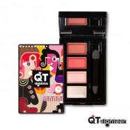 image of QTeighteen 朵米諾創意四色限定粉盒    QTeighteen  Domino Color Eyeshadow Refill