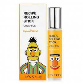 image of 韓國 Its skin╳Sesame Street 芝麻街聯名款 精油滾珠香水 10mL #.CHEERFUL   Korea Its skin╳Sesame Street Recipe Rolling Stick 10mL #.CHEERFUL