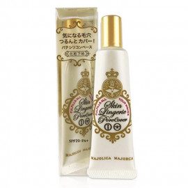 image of 日本 MAJOLICA MAJORCA 戀愛魔鏡 無瑕娃娃粧前霜 25g   Japan MAJOLICA MAJORCA Skin Lingerie Pore Cover Makeup Base 25g