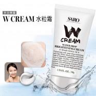 image of 韓國 SARO W CREAM 水粒霜 素顏霜 懶人化妝必備   Korea SARO W CREAM Water Drop Brightening Cream
