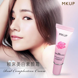 image of MKUP 美咖 賴床美白素顏霜 (小)10ml  MKUP Real Complextion Cream 10ml