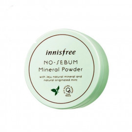 image of 韓國 innisfree ECO無油光天然薄荷礦物控油蜜粉 5g   Korea innisfree ECO No-Sebum Mineral Powder 5g