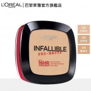 image of LOREAL 巴黎萊雅 油光OUT恆霧蜜粉餅 200健康色9g  L'Oreal Paris Infallible Pro-Matte Powder 9g #200 Natural Beige