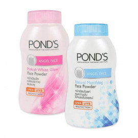 image of 泰國 PONDS 旁氏 魔力控油防曬粉 50g 藍瓶/粉紅瓶   Thailand  PONDS  Angel Face Face Powder 50g Blue/Pink