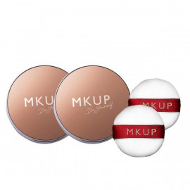 image of MKUP 美咖 光透裸紗定妝蜜粉 SPF30 ★★★ 7g 柔膚色/透亮色    MKUP Air Veil Mineral Fixing Powder  SPF30 ★★★ 7g  Matt/Glow