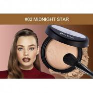 image of 法國 Flormar 獨角獸高光粉餅 02 midnight star  France Flormar Powder Illuminator #02 midnight star
