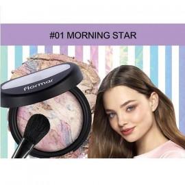 image of 法國 Flormar 獨角獸高光粉餅 01 Morning Star   France Flormar Powder Illuminator #01 Morning Star