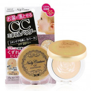 image of KOSE高絲 Nudy Couture妞蒂可 CC礦物蜜粉餅 SPF20 7g  KOSE  Nudy Couture CC Mineral Powder Foundation SPF20 PA++ 7g