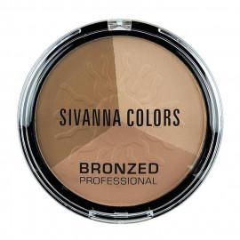 image of Sivanna HF-321 健康古銅亮膚修容組 17g #.04 宴會歐風   Sivanna HF-321 Sivanna Colors Bronzed Professional 17g #.04