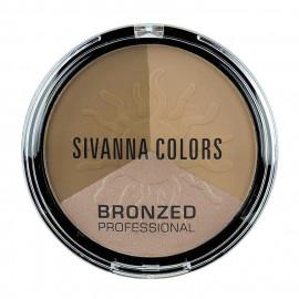 image of Sivanna HF-321 健康古銅亮膚修容組 17g #.03 典雅東瀛  Sivanna HF-321 Sivanna Colors Bronzed Professional 17g #.03