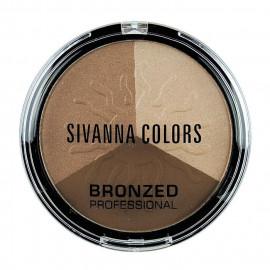 image of Sivanna HF-321 健康古銅亮膚修容組 17g #.01 活力森巴   Sivanna HF-321 Sivanna Colors Bronzed Professional 17g #.01