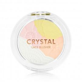 image of 韓國 TONYMOLY 水晶花邊提亮腮紅 4.5g     Korea TONYMOLY  Crystal Lace Blusher 4.5g