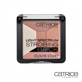 image of catrice 金緻柔光打亮餅 #010   catrice cosmetics Light Spectrum Strobing Brick #010