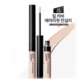 image of 韓國 CLIO Kill Cover 輕薄空氣感遮瑕膏 2 亮膚色3g  Korea CLIO Kill Cover Airy-Fit Concealer 3g #2 Lingerie