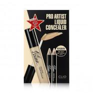 image of 韓國 CLIO 藝術家達人超水感遮瑕膏套組 04 自然膚   Korea CLIO Kill Cover Pro Artist Liquid Concealer #04 Nature Beige