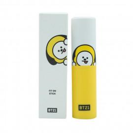 image of 韓國 VT*BT21 保濕飾底乳/保濕提亮棒/保濕修容棒/保濕飾底棒/黑眼圈遮瑕棒 03.保濕修容棒(CHIMMY) Korea VT*BT21 Fit On Stick # Shading (CHIMMY)