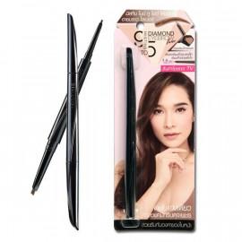 image of 泰國 Mistine 鑽石雙頭眉筆 (兩色可選)    Thailand Mistine Diamond Eyebrow Liner