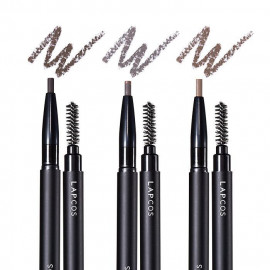 image of 韓國 LAPCOS 好上手持久顯色旋轉眉筆1g   Korea LAPCOS Real Touch Eyebrow Pencil 1g