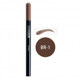 image of MAYBELLINE 媚比琳 宛若真眉雙效眉粉筆 眉筆0.11g+眉粉0.5g #.BR-1  MAYBELLINE NEW YORK Fashionbrow Duo Eyebrow #.BR-1