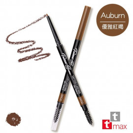 image of 台灣 tt max 絕對鎖定持色眉膠筆 0.1g #.BR02-Auburn 優雅紅褐  Taiwan tt max  Tatoo-Lasting Gel Pencil  0.1g #.BR02-Auburn