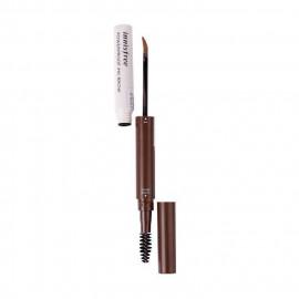 image of 韓國 innisfree 防水墨印雙頭眉筆 2 淺咖    Korea innisfree Powerproof Ink Brow #2 Latte Brown