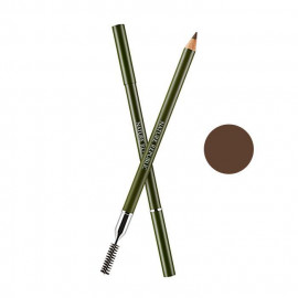 image of 韓國 Nature Republic 立體細緻旋轉式眉筆(附刷) 0.3g 3 棕色  Korea Nature Republic Eyebrow Pencil 0.3g #3 Brown