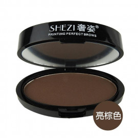 image of SHEZI 奢姿 印章眉粉 5.5g #.03 亮棕色  SHEZI Printing Perfect Brows 5.5g #.03 Bright Brown