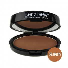image of SHEZI 奢姿 印章眉粉 5.5g #.02 淺褐色  SHEZI Printing Perfect Brows 5.5g #.02 Light Brown