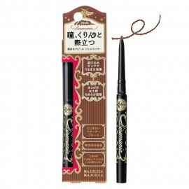 image of 日本 SHISEIDO 資生堂 MAJOLICA MAJORCA 戀愛魔鏡 愛線狂防暈眼線筆 0.1g #.BR666  Japan Shiseido Majolica Majorca Linemania Waterproof Slim Gel Eyeliner Pencil 0.1g #.BR666
