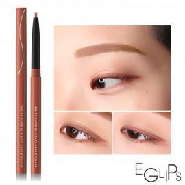 image of 韓國 Eglips 0.2極細抗暈防水旋轉眼線膠筆 0.12g #.05 CORAL ATTACK  Korea   Eglips 0.2 Super Slim Auto Long Eyeliner 0.12g #.05 CORAL ATTACK