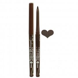 image of 睫老闆 超防水旋轉免削式眼膠筆 0.4g #.D72 深棕色  Eyelash Boss Rotating Gel Pencil Eyeliner 0.4g #.D72 Dark Brown